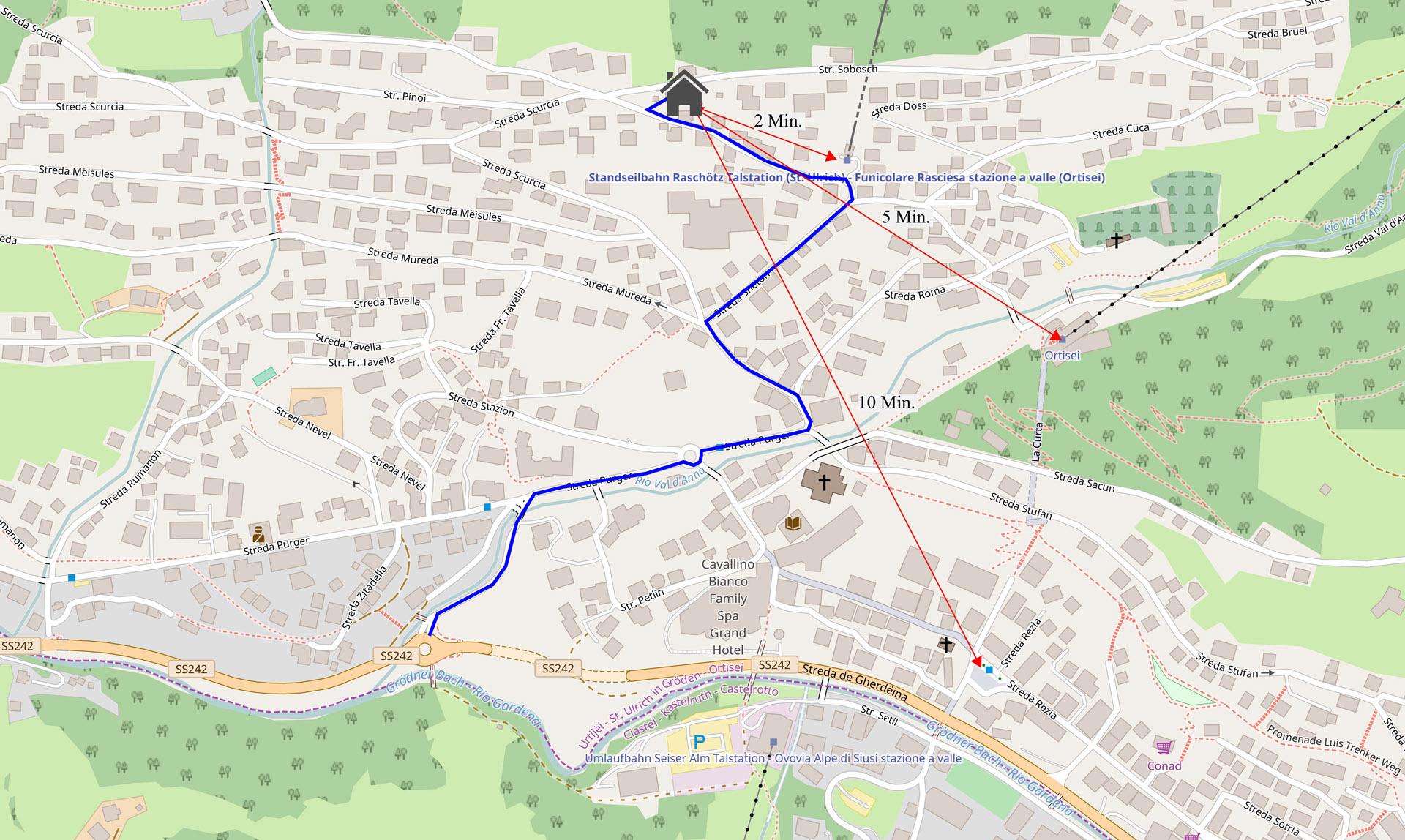 Apartments Costanzi Location